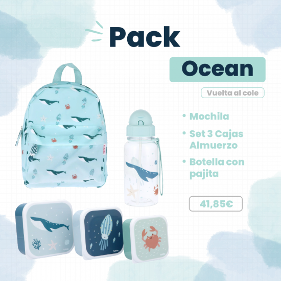 Vuelta Al Cole Pack Ocean