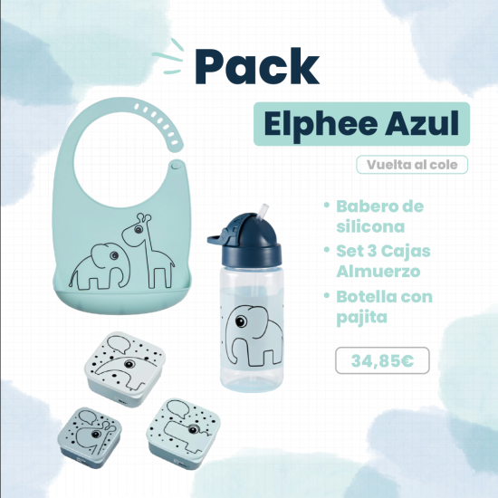 Vuelta Al Cole Pack Elphee Azul